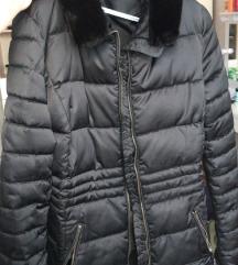 Elegantna jakna sa krznom za zimu