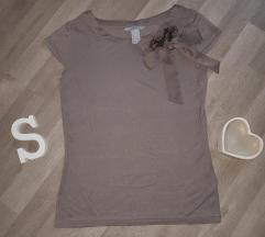 H&M siva majica XS/S