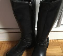 """Zara"" crne dugačke čizme"