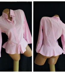 RALPH LAUREN ✿ pink pin-up karo košuljica!