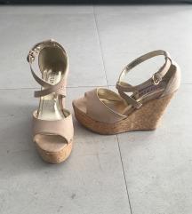 Prelepe sandale sa platformom, 36-Novo