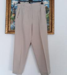 Kao nove krem duboke elegantne pantalone XL