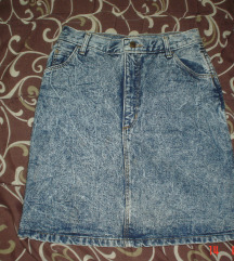WRANGLER teksas suknja visokog struka M vel
