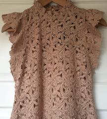Zara cipka haljina