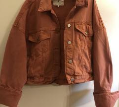 Oversize teksas jakna Zara