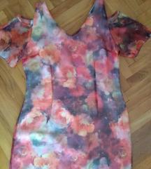 Elegantna haljina,TIBstil,42, M,L,original, novo