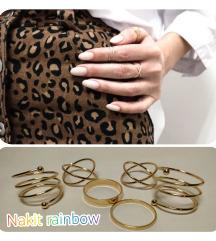 💚Set zlatnih prstenčića