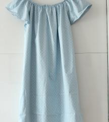 Haljina plava s/m novo