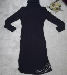♫ ♪ ♫ JONES crna roll haljina sa sekvinima