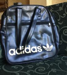 Adidas torba (crna sa zlatnim detaljima)