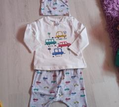 SET za bebe decake 3-6 mes