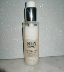 Therme zen white lotus body serum pure silk 125 ml