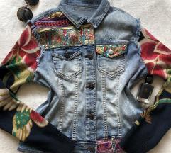 DESIGUAL ORIGINAL teksas jakna 44 ili M S KAO NOVA
