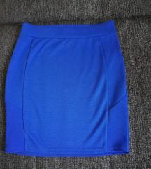 Amisu kraljevsko plava mini suknja