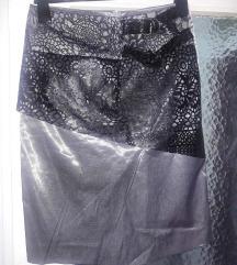 P.S. duboka siva suknja