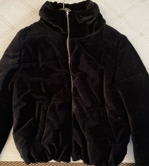 Kratka plisana jakna
