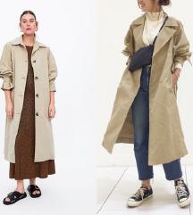 ZARA oversized trench coat NOVO