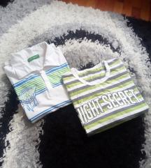 2 muske majice, vel 16
