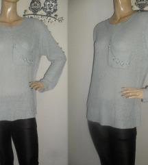 Lamer & Co, baggy džemper sa biserima!!
