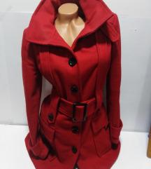 ZARA BASIC kaput/jakna vuna kašmir M