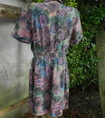 Vintage kombinezon 100% svila L/XL