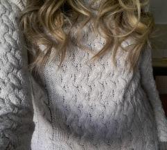 Drap braon džemper
