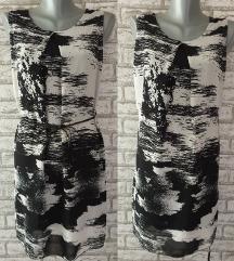 NOVA Crno siva majica/tunika