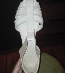 Sjajne PRADA krem sandale baletanke AKCIJA