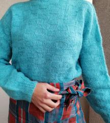 Džemperak od mohera, ručni rad