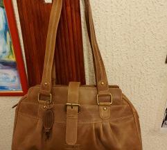 NOVA lux skupocena braon kožna torba