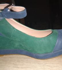 Teget-zelene cipele 38