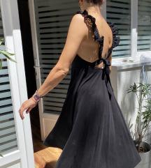 HM trend crna haljina