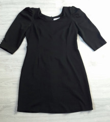 FERVENTE crna elegantna haljina
