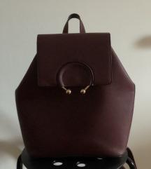 Burgundy Primark backpack :)