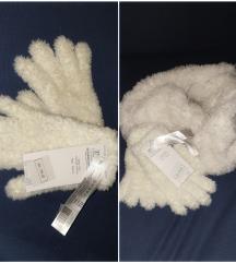 Sal i rukavice novo sa etiketom