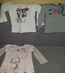 3 majice do 2,5god za 500din
