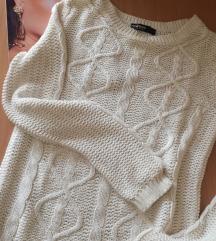 Beli konačni džemper S