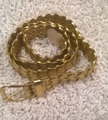 Zlatni zenski kajs 100cm