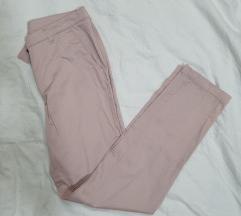 Nezno roze pantalone