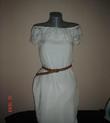 JANINA haljina off shoulder Xs/S