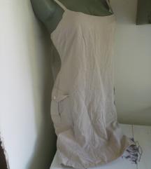 LS krem haljina S/M