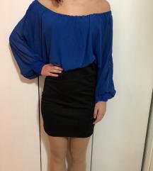 Crno plava haljinica