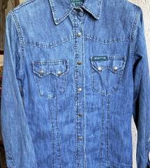 Vintage Benetton teksas košulja