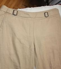Boja peska casual pantalone