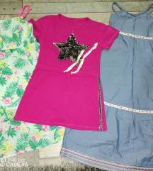 Tri haljinice za 500
