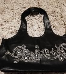 Kožna crna torba