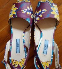 Prada kožne sandale, original