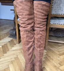Čizme od hentika preko kolena HIT CENA