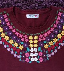 EMBROIDERY džemper NOVO