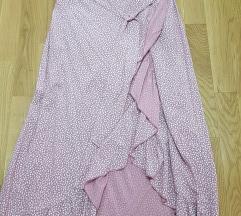 Nova suknja na preklop
